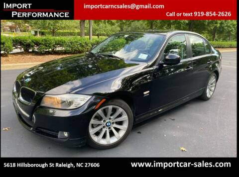 2011 BMW 3 Series for sale at Import Performance Sales in Raleigh NC