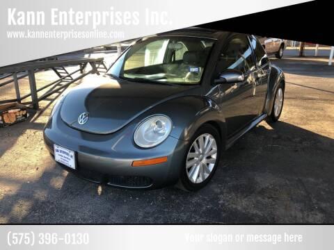 2008 Volkswagen New Beetle for sale at Kann Enterprises Inc. in Lovington NM