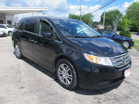 2011 Honda Odyssey for sale at St. Mary Auto Sales in Hilliard OH