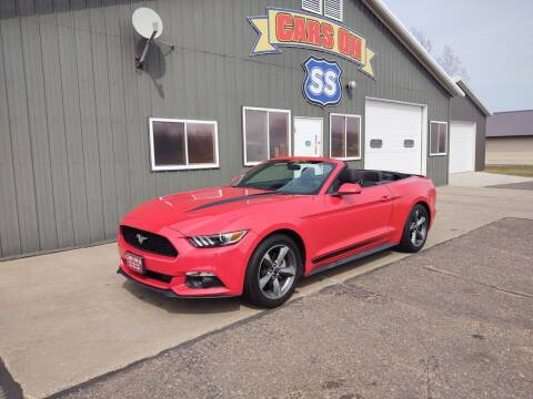 2016 Ford Mustang for sale at CARS ON SS in Rice Lake WI