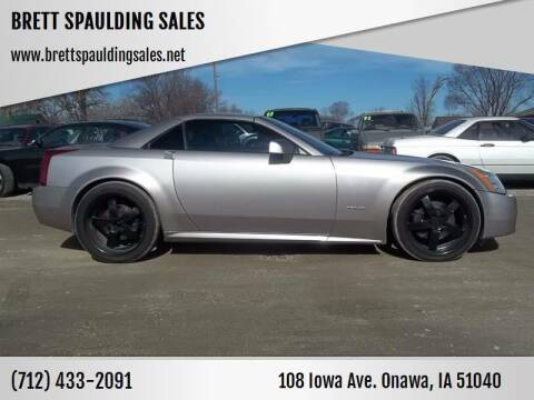 2004 Cadillac XLR for sale at BRETT SPAULDING SALES in Onawa IA