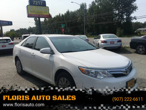 2012 Toyota Camry for sale at FLORIS AUTO SALES in Anchorage AK