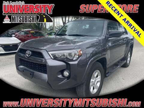 2016 Toyota 4Runner for sale at University Mitsubishi in Davie FL
