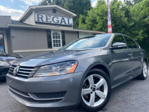 2012 Volkswagen Passat for sale at Regal Auto Sales in Marietta GA