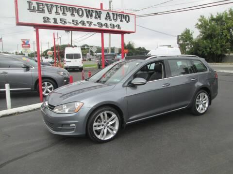 2016 Volkswagen Golf SportWagen for sale at Levittown Auto in Levittown PA