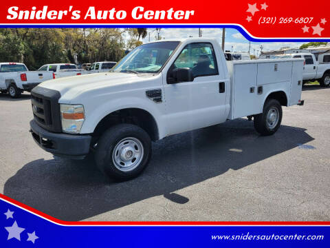 2008 Ford F-250 Super Duty for sale at Snider's Auto Center in Titusville FL
