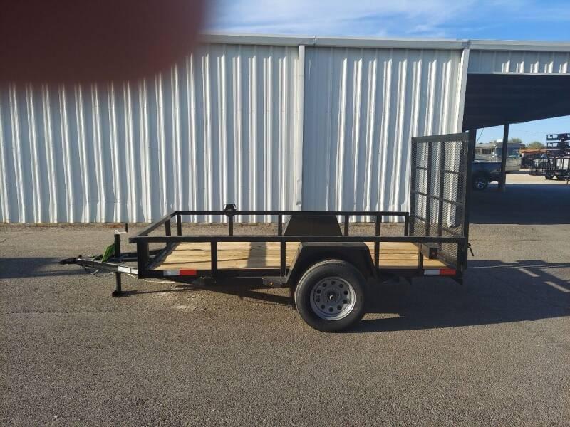 2021 Salvation  5x10 Flatbed for sale at Longhorn Motors in Belton TX