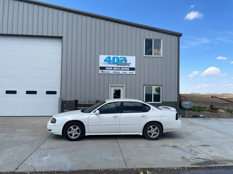 2004 Chevrolet Impala for sale at 402 Autos in Lindsay NE