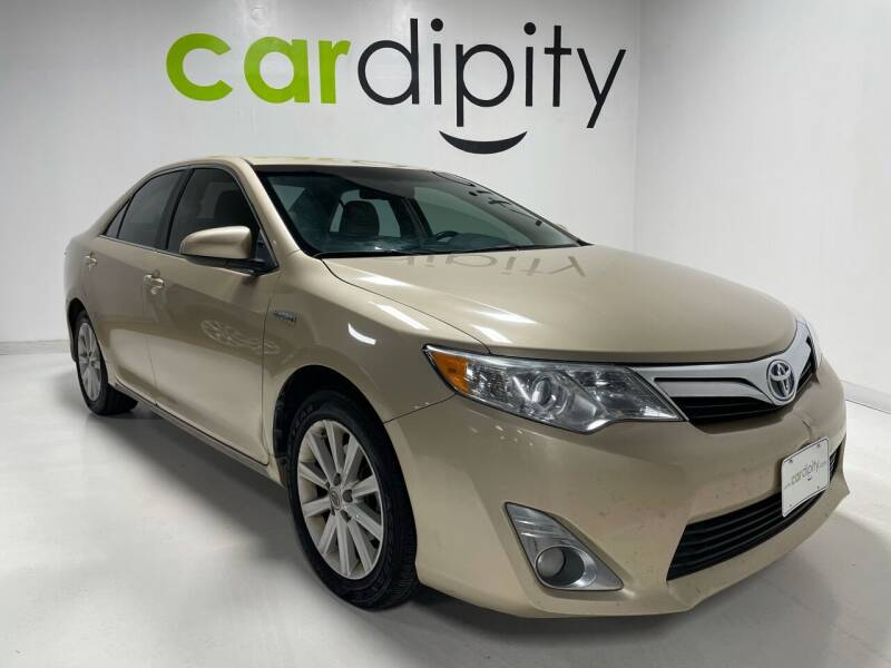 2012 Toyota Camry Hybrid for sale at Cardipity in Dallas TX