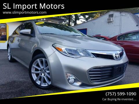 2013 Toyota Avalon for sale at SL Import Motors in Newport News VA