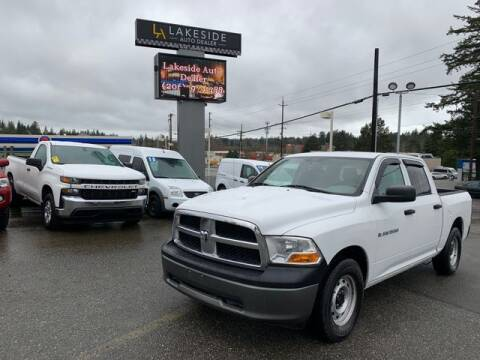 2011 RAM Ram Pickup 1500 for sale at Lakeside Auto in Lynnwood WA