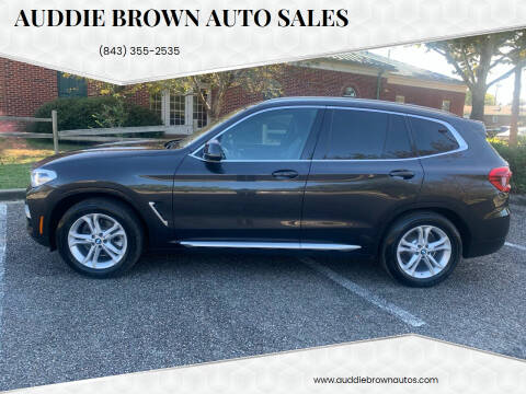 2020 BMW X3 for sale at Auddie Brown Auto Sales in Kingstree SC
