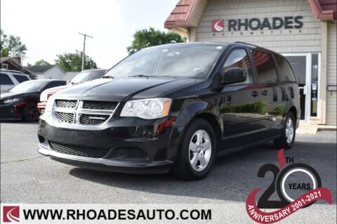 2012 Dodge Grand Caravan for sale at Rhoades Automotive in Columbia City IN