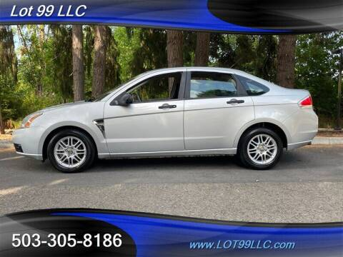 2008 Ford Focus for sale at LOT 99 LLC in Milwaukie OR