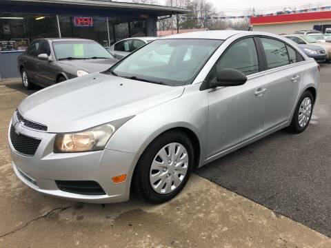 2011 Chevrolet Cruze for sale at Wise Investments Auto Sales in Sellersburg IN