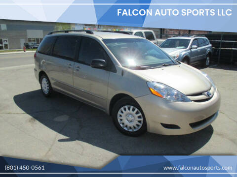 2008 Toyota Sienna for sale at Falcon Auto Sports LLC in Murray UT