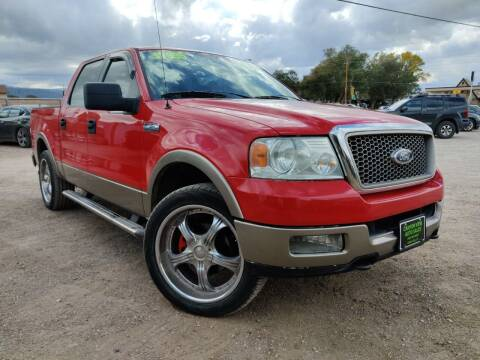 2005 Ford F-150 for sale at Canyon View Auto Sales in Cedar City UT
