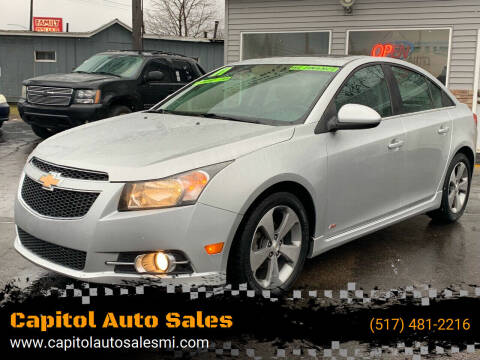 2011 Chevrolet Cruze for sale at Capitol Auto Sales in Lansing MI