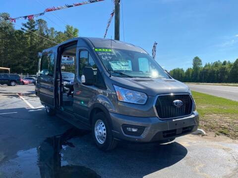 2021 Ford Transit Passenger for sale at US 1 Auto Sales in Graniteville SC