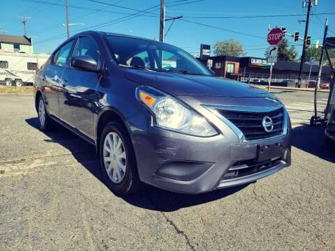 2017 Nissan Versa for sale at Paisanos Chevrolane in Seattle WA