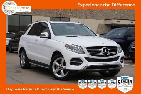 2018 Mercedes-Benz GLE for sale at Dallas Auto Finance in Dallas TX