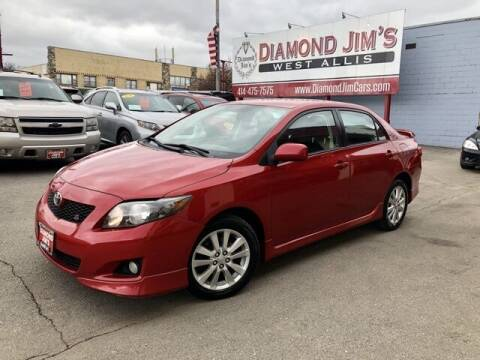 2010 Toyota Corolla for sale at Diamond Jim's West Allis in West Allis WI