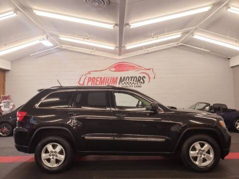 2013 Jeep Grand Cherokee for sale at Premium Motors in Villa Park IL