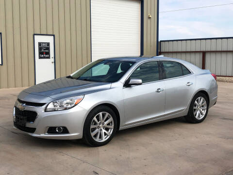 2016 Chevrolet Malibu Limited for sale at TEXAS CAR PLACE in Lubbock TX