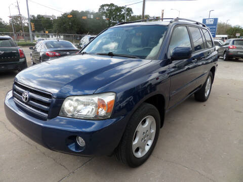 2007 Toyota Highlander for sale at West End Motors Inc in Houston TX