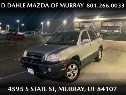 2005 Hyundai Santa Fe for sale at D DAHLE MAZDA OF MURRAY in Salt Lake City UT