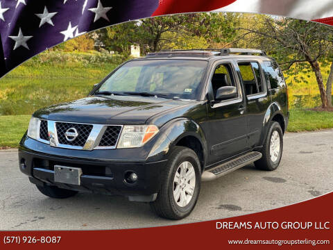 2007 Nissan Pathfinder for sale at Dreams Auto Group LLC in Sterling VA