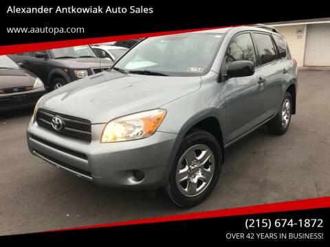 2006 Toyota RAV4 for sale at Alexander Antkowiak Auto Sales in Hatboro PA