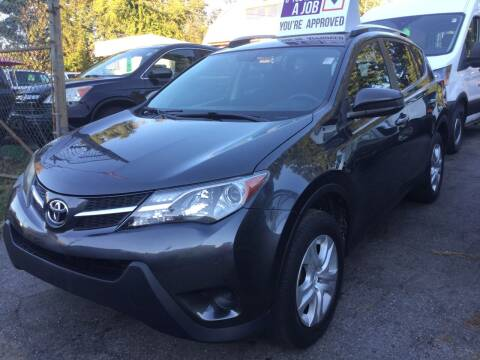 2014 Toyota RAV4 for sale at Drive Deleon in Yonkers NY
