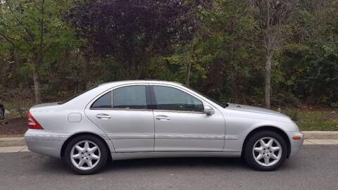 2002 Mercedes-Benz C-Class for sale at M & M Auto Brokers in Chantilly VA