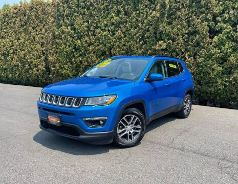 2018 Jeep Compass for sale at Yaktown Motors in Union Gap WA