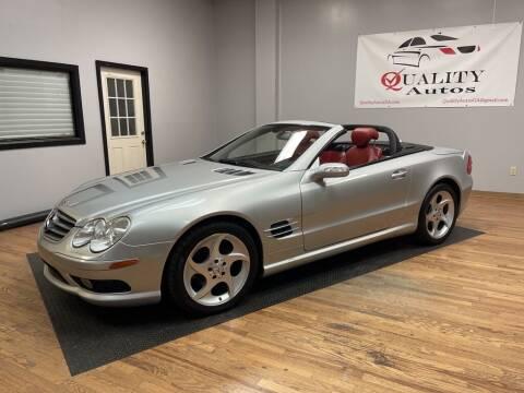 2005 Mercedes-Benz SL-Class for sale at Quality Autos in Marietta GA
