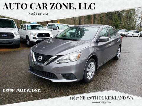 2017 Nissan Sentra for sale at Auto Car Zone, LLC in Kirkland WA
