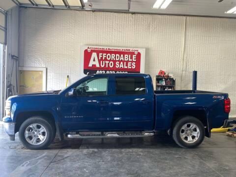 2015 Chevrolet Silverado 1500 for sale at Affordable Auto Sales in Humphrey NE