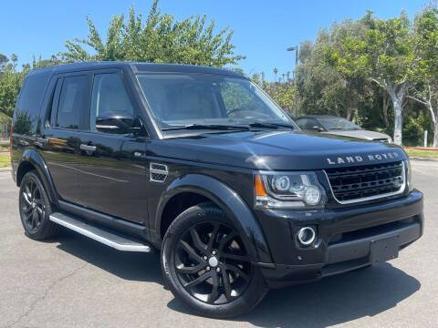 2016 Land Rover LR4 for sale at Automaxx Of San Diego in Spring Valley CA