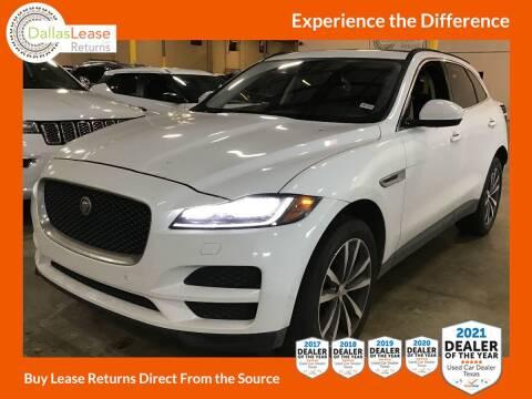 2018 Jaguar F-PACE for sale at Dallas Auto Finance in Dallas TX