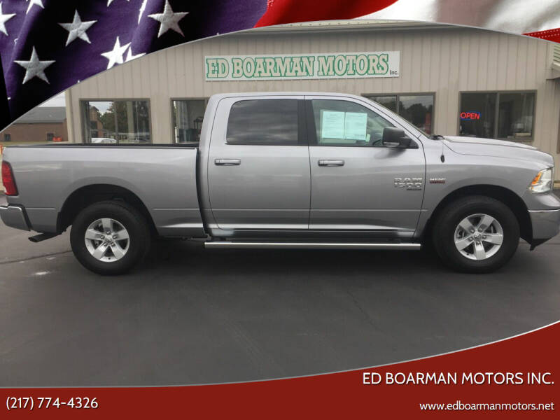 2020 RAM Ram Pickup 1500 Classic for sale at Ed Boarman Motors Inc. in Shelbyville IL