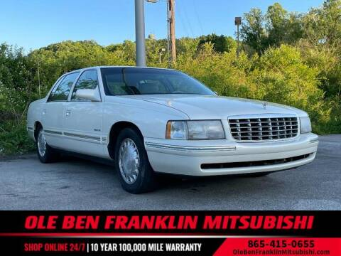 1999 Cadillac DeVille for sale at Ole Ben Franklin Mitsbishi in Oak Ridge TN