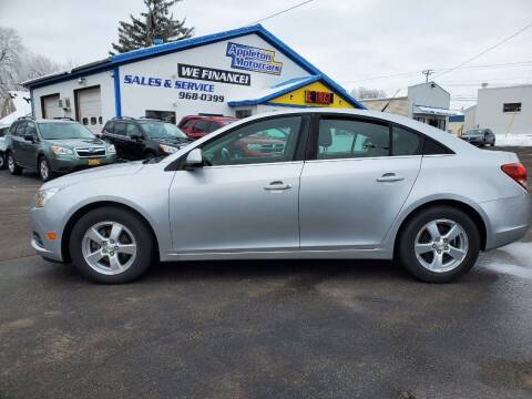 2011 Chevrolet Cruze for sale at Appleton Motorcars Sales & Service in Appleton WI