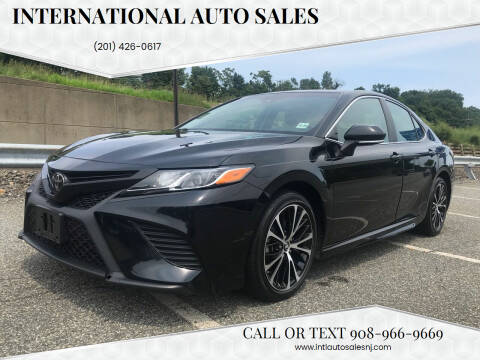 2018 Toyota Camry for sale at International Auto Sales in Hasbrouck Heights NJ