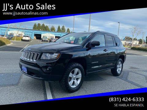 2016 Jeep Compass for sale at JJ's Auto Sales in Salinas CA