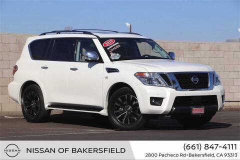 2019 Nissan Armada for sale at Nissan of Bakersfield in Bakersfield CA