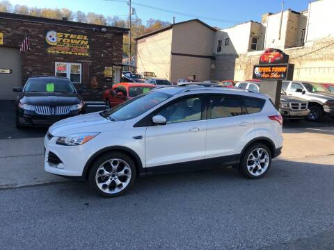 2014 Ford Escape for sale at STEEL TOWN PRE OWNED AUTO SALES in Weirton WV