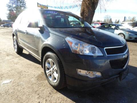 2011 Chevrolet Traverse for sale at VALLEY MOTORS in Kalispell MT
