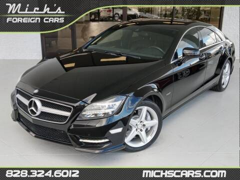 2012 Mercedes-Benz CLS for sale at Mich's Foreign Cars in Hickory NC