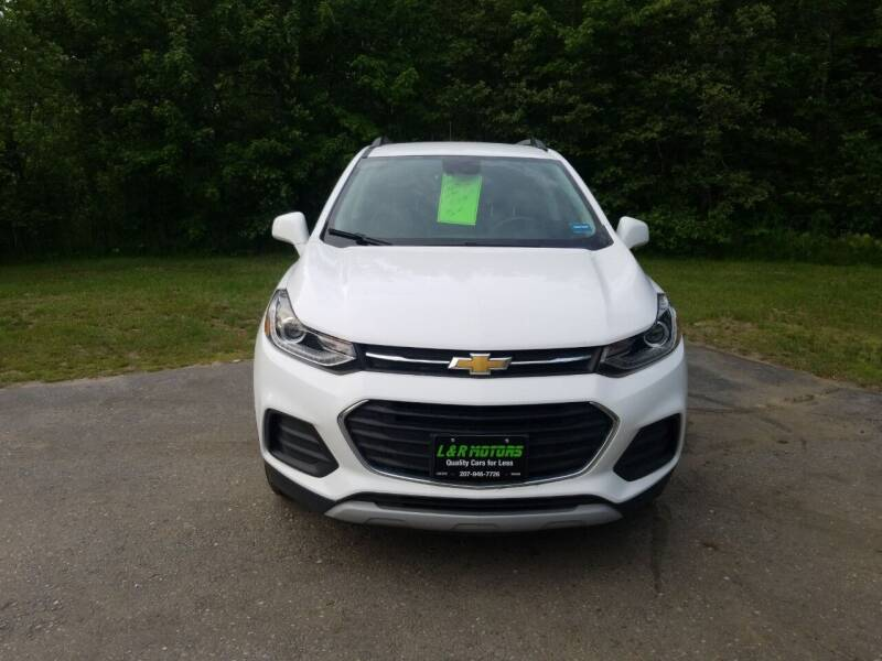 2017 Chevrolet Trax for sale at L & R Motors in Greene ME